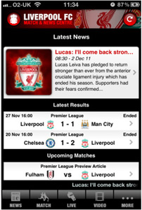 Liverpool FC Official app